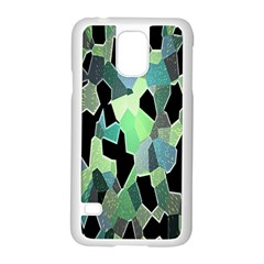 Wallpaper Background With Lighted Pattern Samsung Galaxy S5 Case (white) by Nexatart
