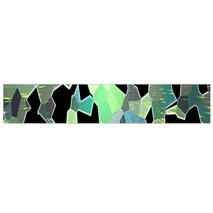 Wallpaper Background With Lighted Pattern Flano Scarf (Large)