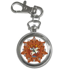 Coat Of Arms Of The Democratic Republic Of Georgia (1918 1921, 1990 2004) Key Chain Watches by abbeyz71