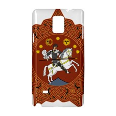 Coat Of Arms Of The Democratic Republic Of Georgia (1918 1921, 1990 2004) Samsung Galaxy Note 4 Hardshell Case by abbeyz71