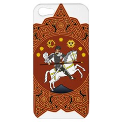Coat Of Arms Of Republic Of Georgia (1918 1921, 1990 2004) Apple Iphone 5 Hardshell Case