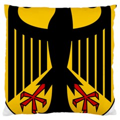 Coat Of Arms Of Germany Standard Flano Cushion Case (one Side) by abbeyz71