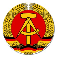 National Emblem Of East Germany  Magnet 5  (round) by abbeyz71