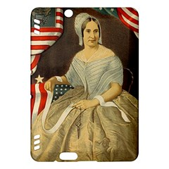Betsy Ross Author Of The First American Flag And Seal Patriotic Usa Vintage Portrait Kindle Fire Hdx Hardshell Case by yoursparklingshop