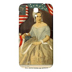 Betsy Ross Author Of The First American Flag And Seal Patriotic Usa Vintage Portrait Samsung Galaxy Mega I9200 Hardshell Back Case by yoursparklingshop