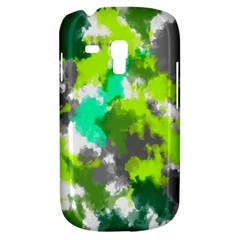 Abstract Watercolor Background Wallpaper Of Watercolor Splashes Green Hues Galaxy S3 Mini
