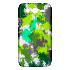 Abstract Watercolor Background Wallpaper Of Watercolor Splashes Green Hues Samsung Galaxy Mega 5 8 I9152 Hardshell Case  by Nexatart