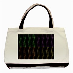 Multicolor Pattern Digital Computer Graphic Basic Tote Bag by Nexatart