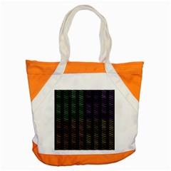 Multicolor Pattern Digital Computer Graphic Accent Tote Bag by Nexatart