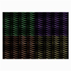 Multicolor Pattern Digital Computer Graphic Large Glasses Cloth by Nexatart