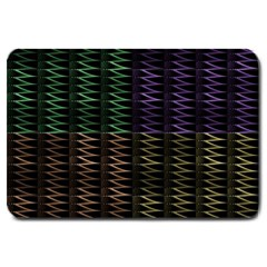 Multicolor Pattern Digital Computer Graphic Large Doormat