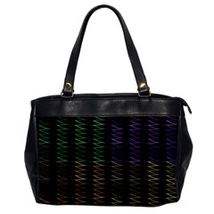 Multicolor Pattern Digital Computer Graphic Office Handbags by Nexatart