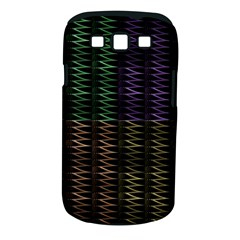 Multicolor Pattern Digital Computer Graphic Samsung Galaxy S Iii Classic Hardshell Case (pc+silicone) by Nexatart