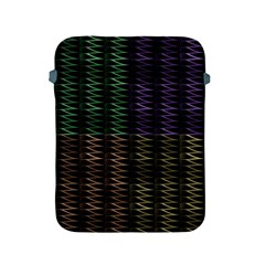 Multicolor Pattern Digital Computer Graphic Apple Ipad 2/3/4 Protective Soft Cases by Nexatart