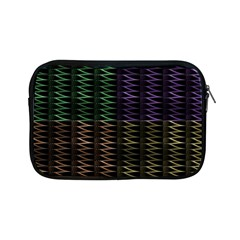 Multicolor Pattern Digital Computer Graphic Apple Ipad Mini Zipper Cases by Nexatart