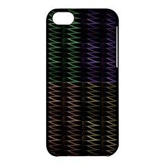 Multicolor Pattern Digital Computer Graphic Apple Iphone 5c Hardshell Case