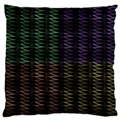 Multicolor Pattern Digital Computer Graphic Large Flano Cushion Case (two Sides) by Nexatart