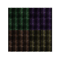Multicolor Pattern Digital Computer Graphic Small Satin Scarf (square) by Nexatart