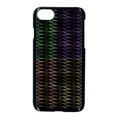 Multicolor Pattern Digital Computer Graphic Apple Iphone 7 Seamless Case (black) by Nexatart