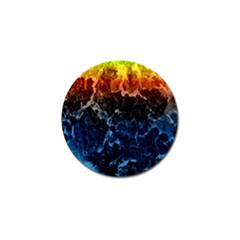 Abstract Background Golf Ball Marker (10 Pack) by Nexatart