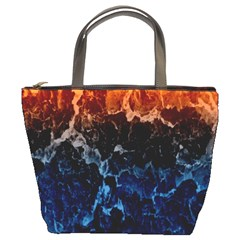 Abstract Background Bucket Bags