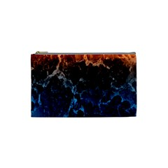 Abstract Background Cosmetic Bag (small)  by Nexatart