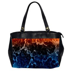 Abstract Background Office Handbags (2 Sides)  by Nexatart