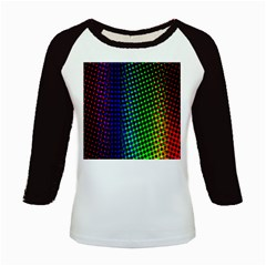 Digitally Created Halftone Dots Abstract Background Design Kids Baseball Jerseys