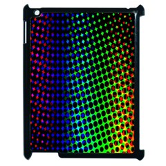 Digitally Created Halftone Dots Abstract Background Design Apple Ipad 2 Case (black) by Nexatart