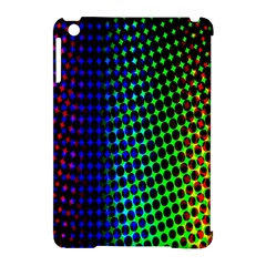 Digitally Created Halftone Dots Abstract Background Design Apple Ipad Mini Hardshell Case (compatible With Smart Cover) by Nexatart