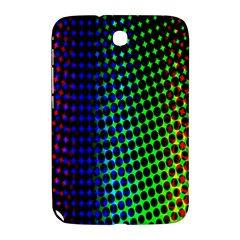 Digitally Created Halftone Dots Abstract Background Design Samsung Galaxy Note 8 0 N5100 Hardshell Case  by Nexatart