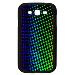Digitally Created Halftone Dots Abstract Background Design Samsung Galaxy Grand Duos I9082 Case (black)