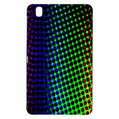 Digitally Created Halftone Dots Abstract Background Design Samsung Galaxy Tab Pro 8 4 Hardshell Case by Nexatart