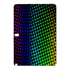 Digitally Created Halftone Dots Abstract Background Design Samsung Galaxy Tab Pro 12 2 Hardshell Case by Nexatart