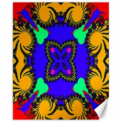 Digital Kaleidoscope Canvas 16  X 20
