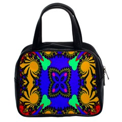 Digital Kaleidoscope Classic Handbags (2 Sides) by Nexatart