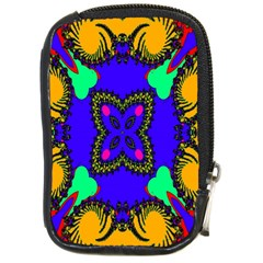 Digital Kaleidoscope Compact Camera Cases by Nexatart