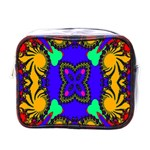 Digital Kaleidoscope Mini Toiletries Bags Front