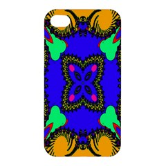 Digital Kaleidoscope Apple Iphone 4/4s Premium Hardshell Case by Nexatart