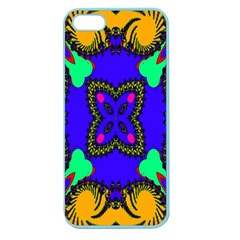 Digital Kaleidoscope Apple Seamless Iphone 5 Case (color)
