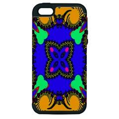 Digital Kaleidoscope Apple Iphone 5 Hardshell Case (pc+silicone)