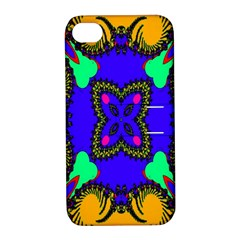 Digital Kaleidoscope Apple Iphone 4/4s Hardshell Case With Stand