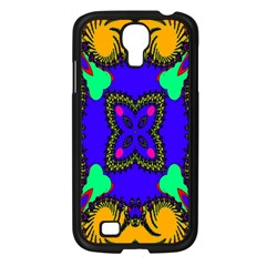 Digital Kaleidoscope Samsung Galaxy S4 I9500/ I9505 Case (black) by Nexatart