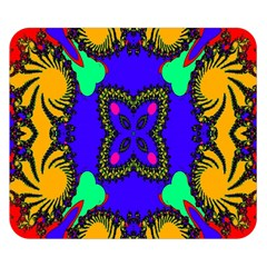 Digital Kaleidoscope Double Sided Flano Blanket (small)  by Nexatart