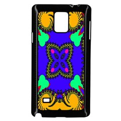 Digital Kaleidoscope Samsung Galaxy Note 4 Case (black)