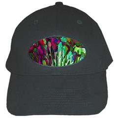 Bright Tropical Background Abstract Background That Has The Shape And Colors Of The Tropics Black Cap by Nexatart