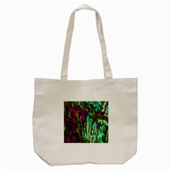 Bright Tropical Background Abstract Background That Has The Shape And Colors Of The Tropics Tote Bag (cream) by Nexatart