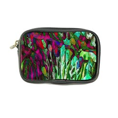 Bright Tropical Background Abstract Background That Has The Shape And Colors Of The Tropics Coin Purse by Nexatart