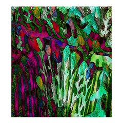 Bright Tropical Background Abstract Background That Has The Shape And Colors Of The Tropics Shower Curtain 66  X 72  (large)  by Nexatart