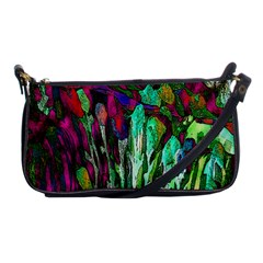 Bright Tropical Background Abstract Background That Has The Shape And Colors Of The Tropics Shoulder Clutch Bags by Nexatart